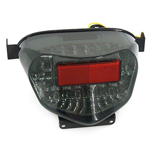 (LED Rear Brake Turn Signal Tail Light Taillight For SUZUKI GSXR600 GSXR750 2000-2003 GSXR1000 K1 2000-2001)