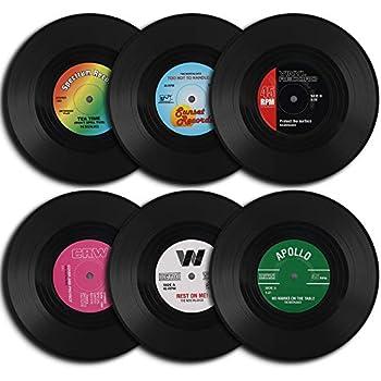Multicolor Medium Aquarius SP1014 David Bowie Vinyl Coasters