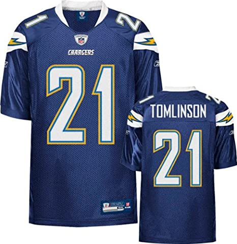 0a1a152c Amazon.com : Reebok LaDainian Tomlinson Jersey Authentic Navy #21 ...