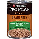 Purina Pro Plan Savor Grain-Free Classic Turkey & Sweet Potato Entree Adult Wet Dog Food - (12) 13 Oz. Cans