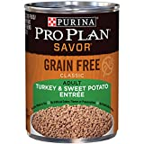 Purina Pro Plan SAVOR Adult Grain Free Classic Adult Turkey & Sweet Potato Entree Wet Dog Food - (12) 13 oz. Cans