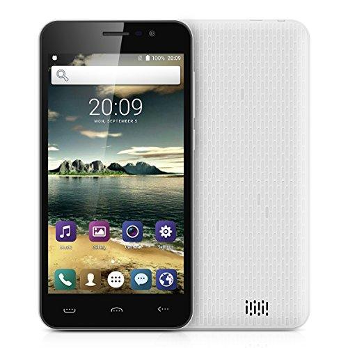 HOMTOM-HT16-8GB-Smartphone-libre-Pantalla-50-FHD-Android-60-Quad-core-13GHz-1GB-RAM-Cmaras-80-MP-interpolado-Dual-SIM-Activa-inteligente-Blanco