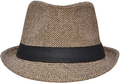 4f3af559e Simplicity Men / Women's Colorful Trilby Golf Fedora Hat - Import It All