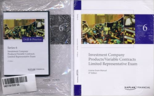 Kaplan, Series 6: Investment Company Products / Variable