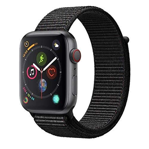 Apple Watch Series 4 Cellular, 44 mm, Alumínio Cinza Espacial, Pulseira Esportiva...