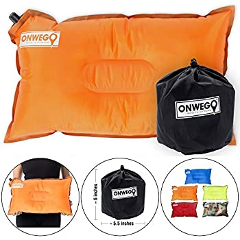 Amazon Com Onwego Camping Pillow Small Inflatable Pillow