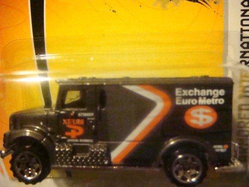 Matchbox Armored International Euro Metro Truck Black/Gray #75 Collector, 2005