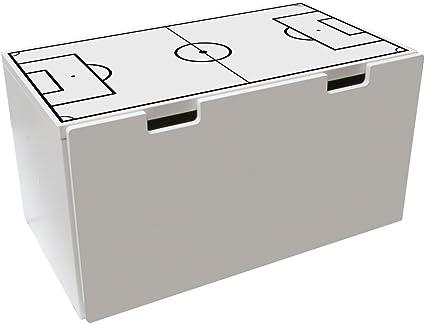 Limmaland Muebles Decorativo para Campo de fútbol Color Blanco – Válido para IKEA stuva Banco baúl – DIY Mesa de futbolín – Muebles No Incluye: Amazon.es: Juguetes y juegos