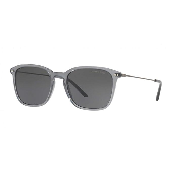 Amazon.com: Gafas de sol Giorgio Armani AR 8111 568187 OPAL ...