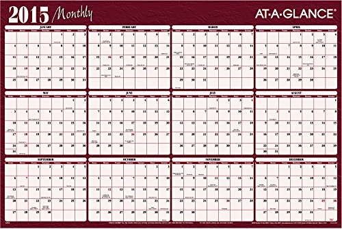 Year Calendar Horizontal : Yearly wall planner january december quot