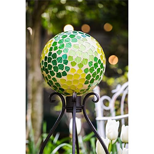 10 Russco III GD137173 Glass Gazing Ball Mosaic Rectangle