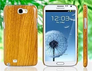 Patrón de madera Diseño caja de plástico protectora para Samsung Galaxy Note 2 / N7100