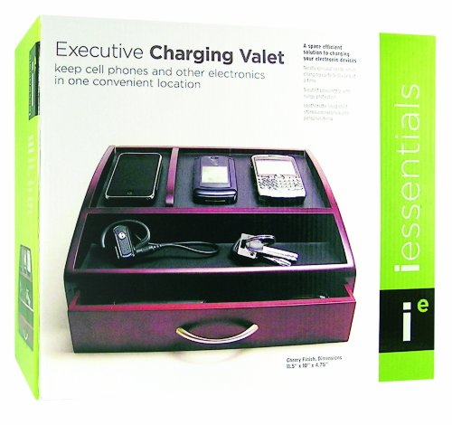 Charging valet with power strip