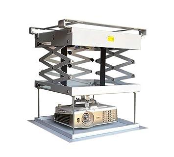 CGOLDENWALL - Percha para proyector eléctrico de techo, elevador ...