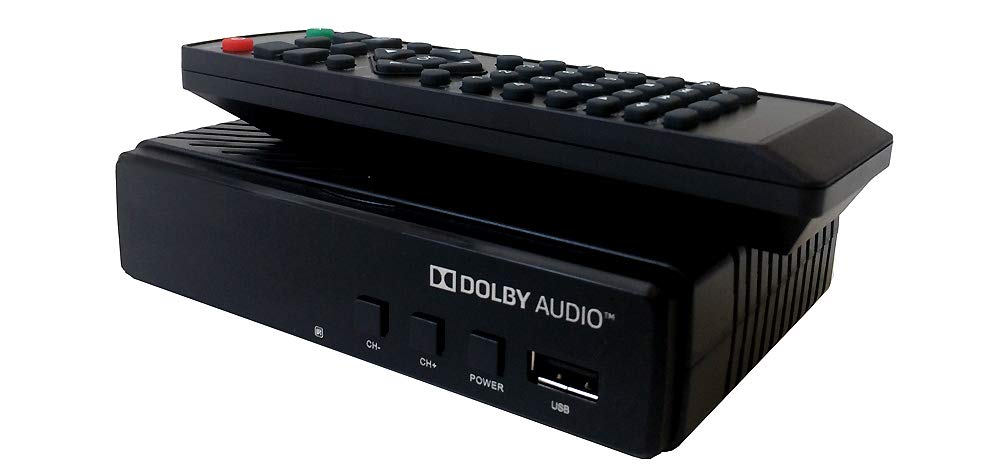 Over-The-Air HD TV Tuner Box USB Recording Function