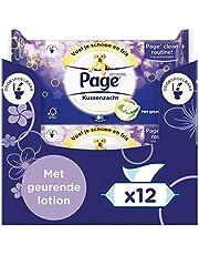 Page Vochtig Toiletpapier - Kussenzacht - 456 Stuks - 12 x 38 Stuks - Voordeelverpakking