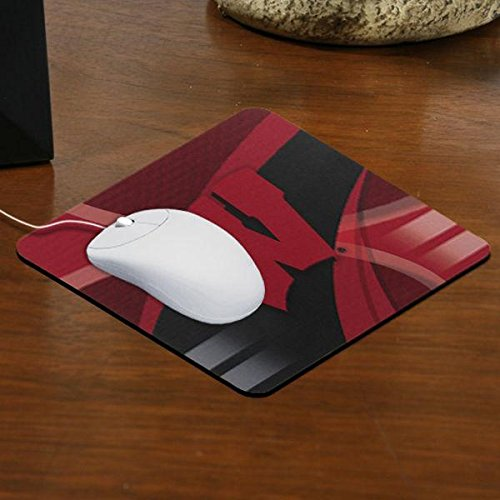 The Memory Company NCAA University of Wisconsin Carbon Fiber Mousepad, One Size, Multicolor by The Memory Company