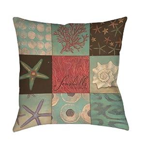 51QceW6QHXL._SS300_ 100+ Coastal Throw Pillows & Beach Throw Pillows