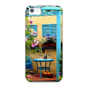 New Iphone 5c Cases Covers Casing(scented Garden)