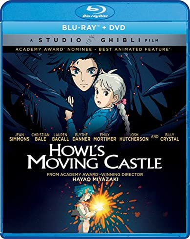 Howls Moving Castle 2004 BluRay 300MB Dual Audio In Hindi 480p