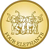 Four Elephants Premium Spring Roll Rice Paper Round