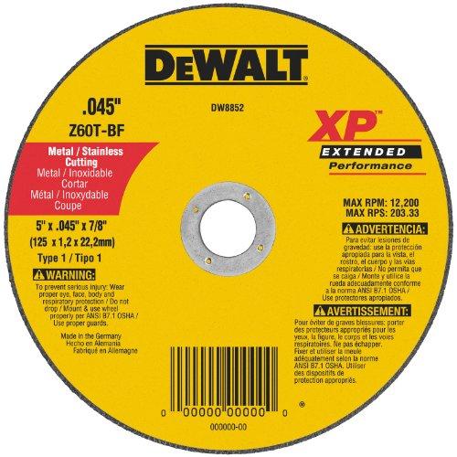 DEWALT DW8852 Cutoff 5 Inch 045 Inch