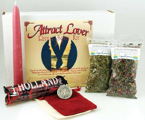 AzureGreen Fortune Telling Toys Boxed Magic Spell Kit Attract Lover