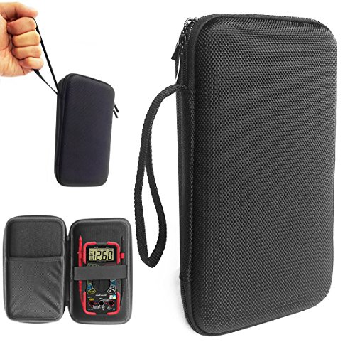 FitSand (TM) Travel Zipper Portable Carry Protective Hard Case Cover Box for INNOVA 3320 Auto-Ranging Digital Multimeter