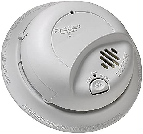 First Alert 9120B 120 Volt Hardwired Smoke Alarm With Battery Back Up 5 Pack