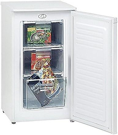 GGV GS111A+ Exquisit - Congelador pequeño (A, 85 cm, 164 kWh/año ...