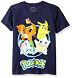 Pokémon Pokemon Boys Group Shot Youth Short-Sleeved Tee Tearaway Label
