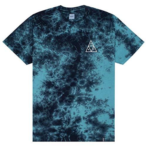 - HUF Triple Triangle Short Sleeve T-Shirt X Large Deep Jungle