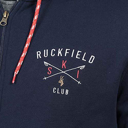 Ruckfield Ruckfield Capuche Sweat Zippé Capuche Zippé Bleu Sweat HqWU7g7xn