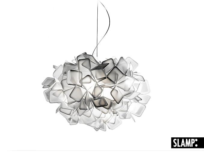 Slamp Lampada a Sospensione Clizia bianco: Amazon.it: Illuminazione