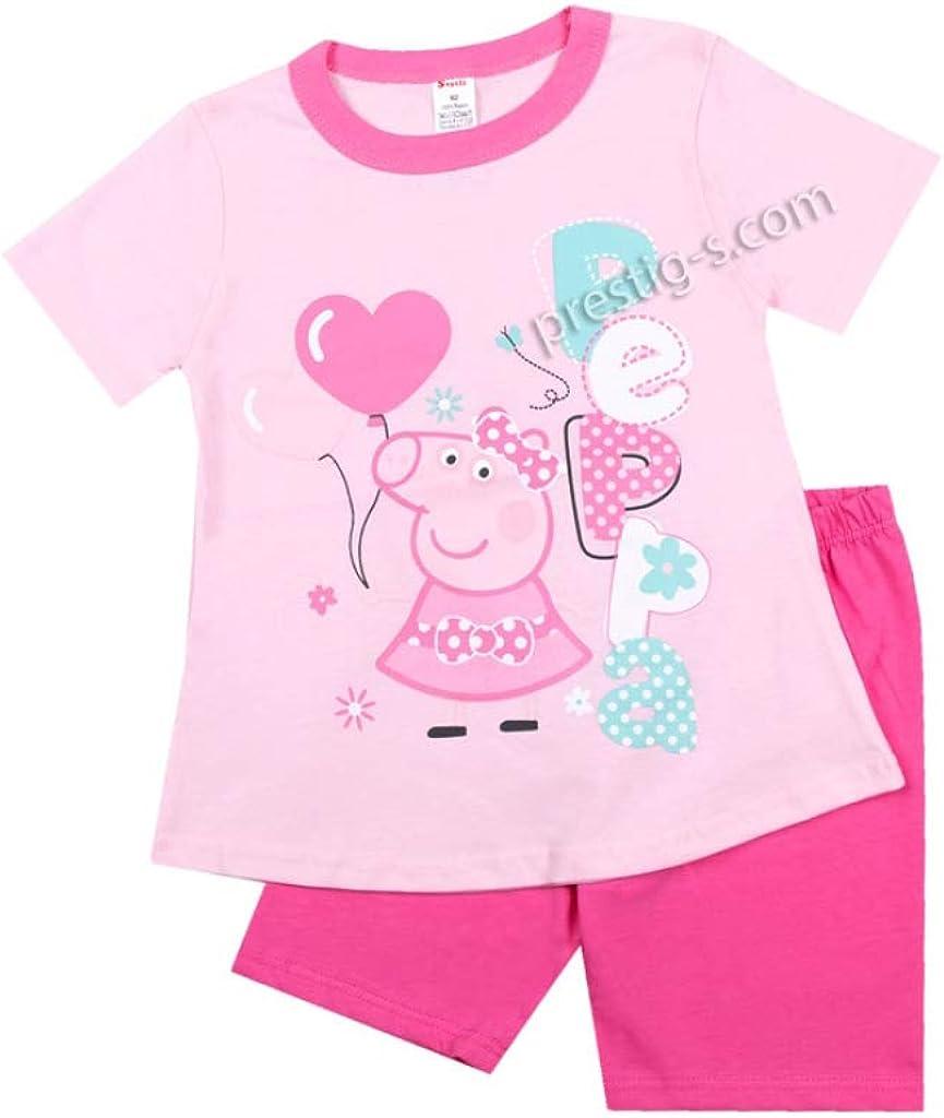 Nachtw/äsche Minnie Pyjama Set Baby M/ädchen Pyjama 100/% Baumwolle Schlafanzug Kurzarm