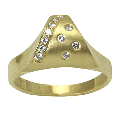 4befa8f76e85 SKIELKA DESIGNSCHMUCK Esquí Elka – Juego de diseño Joyas Diamante Oro Anillo  Python Oro Herrero Trabajo