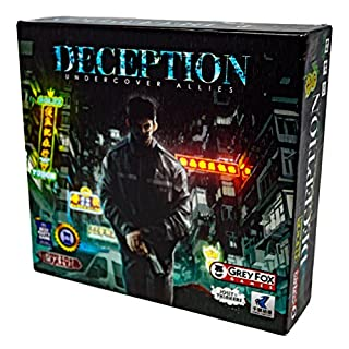 Grey Fox Games Deception: Undercover Allies Board Game