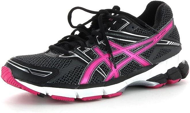Asics - Zapatillas de Running de Tejido sintético (Piel) para Mujer Negro 39: Amazon.es: Zapatos y complementos