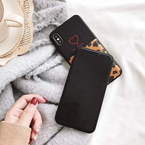 9863f65ed0ce SGVAHY Wallet Case for iPhone Xs Max [6.5 Inch], Credit Card Holder Slot  Cash Pouch Pockets Leather Phone Sleeve Cover Case with Leopard Print  Design ...