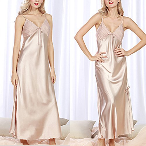 Zhhlaixing Fashion Silk Bridesmaid Bride Robe Women Short Satin Wedding Kimono Robes Sleepwear Nightgown Dress Woman Bathrobe Pajamas 2105# Camel