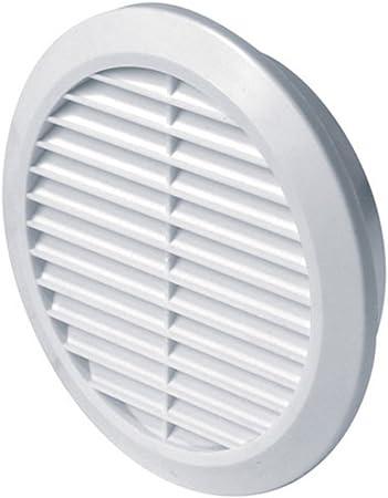 environ 10.16 cm Plastique Externe Gravité Grille Ventilation Ventilateur 100 mm 4 in