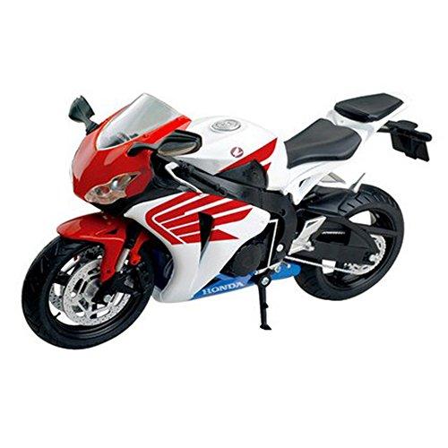 PANDA SUPERSTORE 1000RR Motorcycle Model 1:12 Road Racing Motorcycle (Red/White/Black)