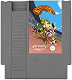 Concealable NES Entertainment Flask - Looks Like a Retro Nintendo Video Game Cartridge - But It's a Flask with a Hilarious Label (Bottle Toads - Battle Toads)