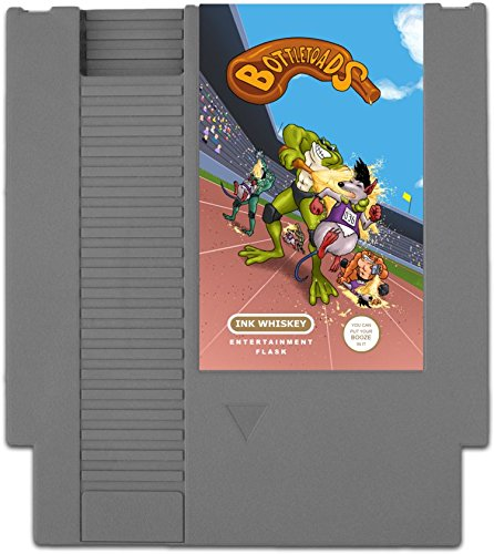 Concealable-NES-Entertainment-Flask--Looks-like-a-Retro-Nintendo-Video-Game-Cartridge--buts-its-a-flask-with-a-Hilarious-Label