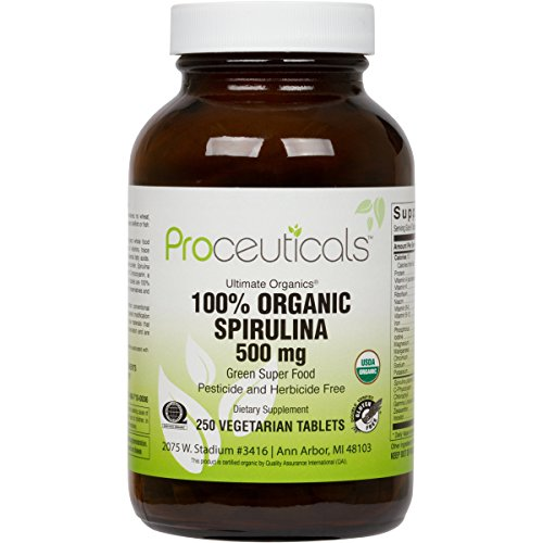 Certified Organic Spirulina. 2...