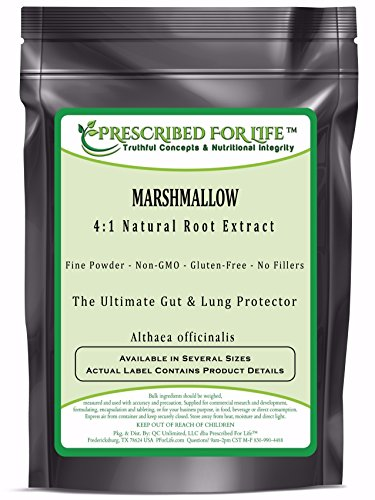 Marshmallow - 4:1 Natural Root Extract Powder (Althaea officinalis), 2.5 lb by Prescribed For Life
