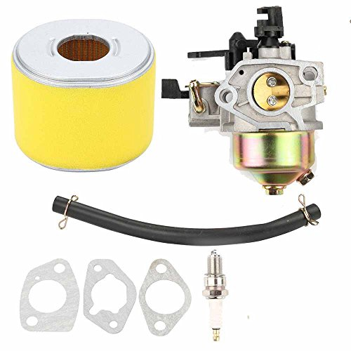 FanzKo GX390 Carburetor air filter for Honda GX340 188F Engine 13hp Generator Engine Replace #16100-ZF6-V0