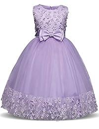 Osinnme CA Little Toddler Big Girls Party Pageant Dresses