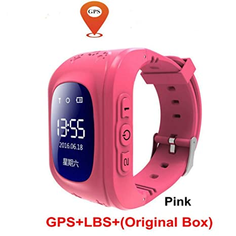 Dispositivo portátil para niños Relojes inteligentes GPS LBS ...