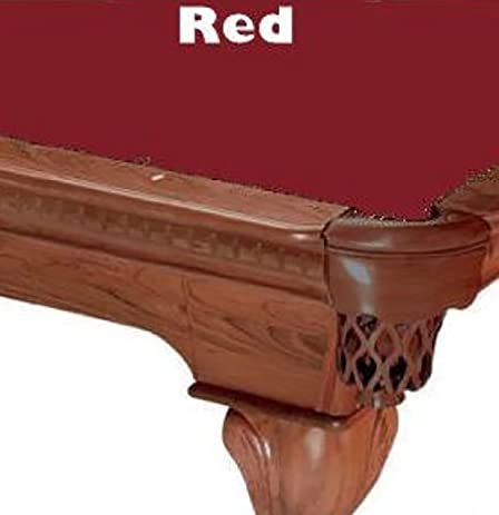 8u0027 Red ProLine Classic 303 Billiard Pool Table Cloth Felt